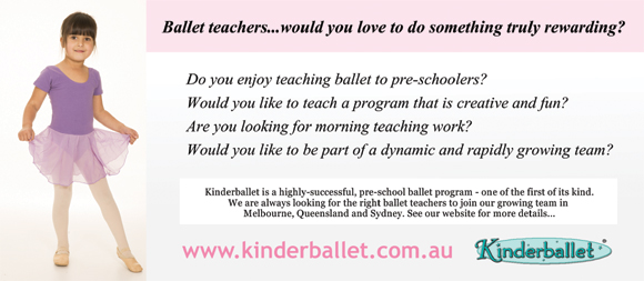 Teaching for Kinderballet