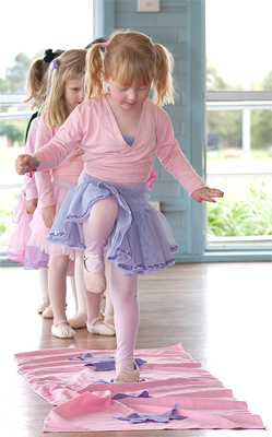 Kinderballet Builds Confidence