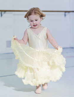 Kinderballet Girl Yellow