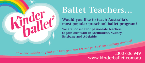 Kinderballet Ad for Preschool Ballet Teachers