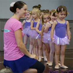 Kinderballet with Teacher