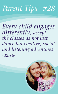 Kinderballet Parent Tips